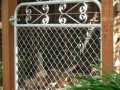 Kensington chain mesh garden gate 1200mm