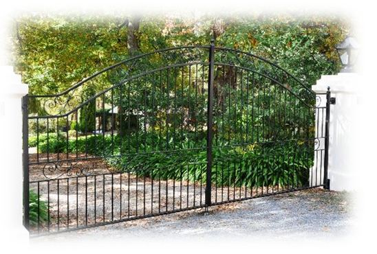 wrought iron gate in Adelaide