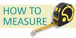 Click here for instructions on how to measure