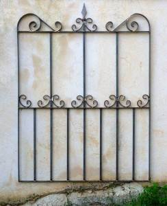 Florence wrought iron gate