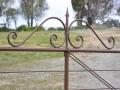 Daylesford gate top scrolls