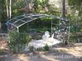 large garden arbour