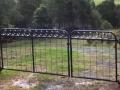 Circle cyclone gate
