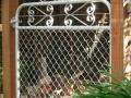 Kensington chain mesh garden gate 1200mm