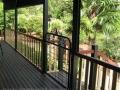 Kensington gate on Queenslander verandah