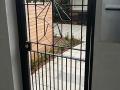 Art Deco personal access gate