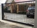 Art Deco sliding gate