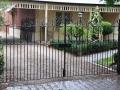 Residential wrought iron gates