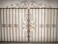 Wrought iron garden gates