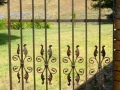 French provincial courtyard gate