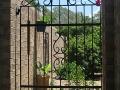 Traditional Deco era gate