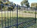Trellis design gate