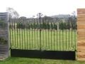 Wrought iron country gates