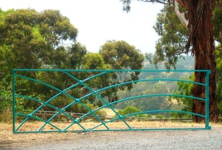 Contemporary Farm Gate